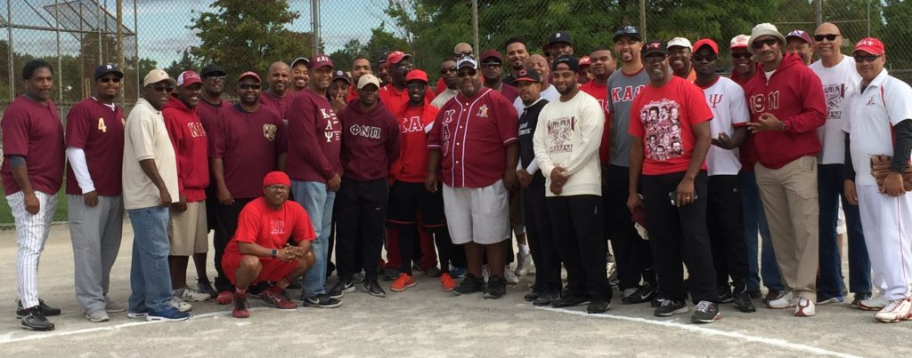 Group photo with Province Polemarch Kevin D. Kyles prior to the competition start.